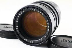 [mint+++] Leica Summicron M 90mm F2 Late Model For M Mount Collector Product