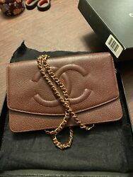 Authentic Vintage Timeless Wallet On Chain Caviar Andldquonewandrdquo