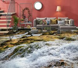 3d White River Ske1835 Floor Wall Paper Wall Print Decal Wall Deco Bea