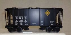 ✅weaver 3-rail Erie Ps-2 Covered Hopper Car W/ Lionel Type Couplers O Scale