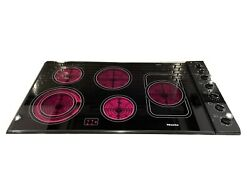 Miele Km 191 36 5 Burner Electric Stovetop/cooktop Ceran Glass Free Shipping