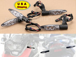 2 Pairs Motor Turn Signal Indicator Light For Bmw F650gs F700gs R1200gs R1200rt
