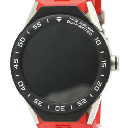 Tag Heuer Connected Modular 45 Smartwatches Stainless Steel Rubber Quartz Mens