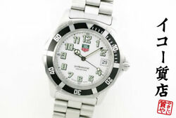 Tag Heuer Extremely Rare Model Wm1111 Professional Mens Quartz Finished