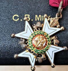 Vintage And Rare Honourable Order Of The Bath C.b. Cased Medal Set 1960 Award