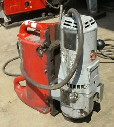 Milwaukee Magnetic Drill 4202 -1 Press Drill Motor No Magnet Read