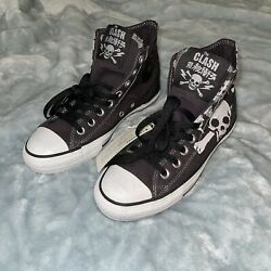 The Clash X Converse Chuck Taylor All-star Shoes Brand New M 6.5 / W 8.5