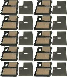 10 Pack Stens 102-719 Air Filter Combo Replaces Honda 17010-zj1-000