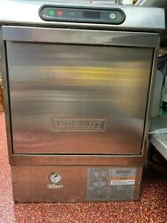 Hobart Lxi Series High Temp Commercial Under Counter Dishwasher 220v With Rack