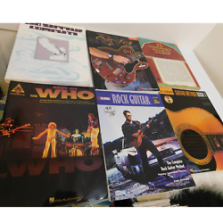 Lot Of Rock And Country Guitar Instruction Books Manuals