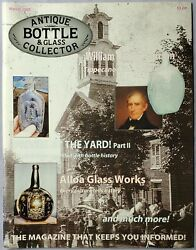 Antique Bottle And Glass Collector Magazine March 2009 Privies By The Yard Partii