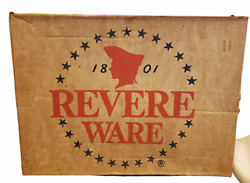 Revere Ware 12 Covered French Chef Skillet 1452 Brand New Sealed