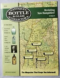 Antique Bottle And Glass Collector Magazine March 2013 Revisiting New Hampshire