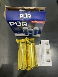 2-pack Pur Maxion Water Pitcher Replacement Filter Ppf951k 3x Lead Reducer Model