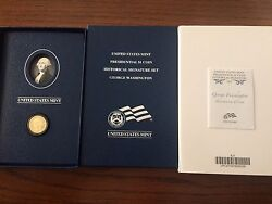 2007-2008 Us Mint Presidential 1 Coin Historical Signature 8-coin Proof Sets