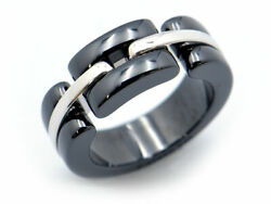 Sale  Ultra Ring 45 No.5 K18wg Finished Collection Black Ceramic No.8843