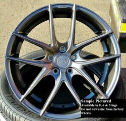 Staggered Rims 20 Inch Wheels For 2013 2014 2015 Camaro Ls Lt Rs Ss Only -5734