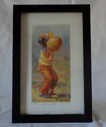 Lucelle Raad's Long Shotsigned Framedlithograph Limited Edition