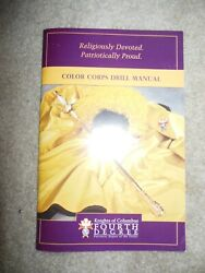 Knights Of Columbus Color Corps 4th Degree Drill Manual