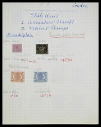 Lot 33745 Stamp Collection Usa Locals/carrier Stamps.