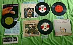 Peter, Paul And Mary Collection Compact Jukebox Ep 33 Rpm. 4 Mini Lp's, Used