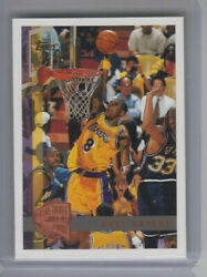 Kobe Bryant 1997-98 Topps 171 Hall Of Fame Minted In Springfield Rare Hof Read