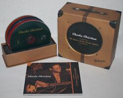 Charlie Christian The Genius Of The Electric Guitar 4 Cd Box Set 2012 W/ Book