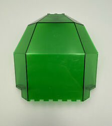 Lego Large Space Panel 10x10x12 Quarter Dome Trans-green 6199 Hydronauts