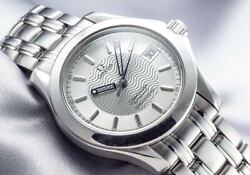 Omega Seamaster 120m Chronometer Ref.2501.31 Steel Silver Dial 2006 No.6646