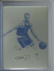 2020 Leaf Best Of Sports Valiant Stars Press Plate Yellow 1/1 Stephen Curry