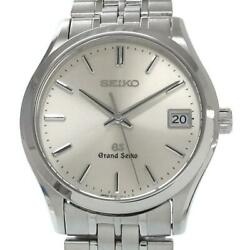 Authentic Seiko Grand 37mm Mens Wristwatch Rank Previously Owned No.9037