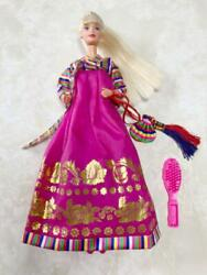 Authentic Barbie Body Toys Us Costumes Are Korean Dresses Free Shipping No.5019
