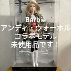 Sale Barbie Andy Warhol Doll Limited Edition From Japan Fedex No.5569