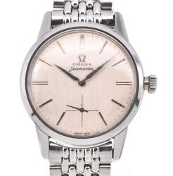 Omega Seamaster 14389-9 Stainless Steel Cal.268 Hand Winding Men Watch P104273