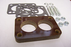 For Carter Bbd 2 Barrel Carb Dodge Plymouth Amc Jeep Phenolic Insulator 1/2