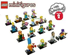 Lego Cmf Collectible Minifigures Series 2 Simpsons Complete Set 16 71009 New