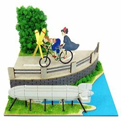Kikis Delivery Service Ghibli Tombo With Propeller Bicycle Miniature Model Kit