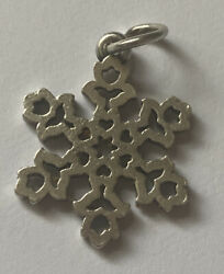 James Avery Sterling Silver Dutch Snowflake Charm James Avery Stamps Worn Off
