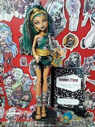 Monster High Doll, Nefera De Nile, First Wave, 1st, Signature, Complete, Ring