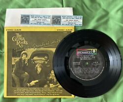 The Grass Roots Compact Jukebox Ep 33 Rpm. Mini Lp Used With Title Strips