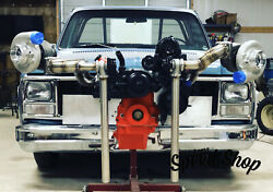 1967 To 1987 Chevrolet C10 Twin Turbo Hot Side.