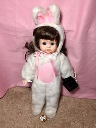 Vintage House Of Lloyd Porcelain Doll Bunny Easter Outfit With Tag Antique