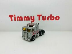 Matchbox Convoy Kenworth Silver Ace Hire Tractor Unit Diecast Z