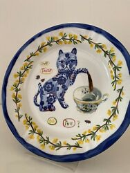 Nathalie Lete Anthropologie Cat Teapot Tea Cup Tasse The French 10 Dinner