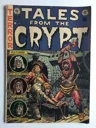 Tales From The Crypt 31 Aug. 1952 Golden Age Ec Comic Rare Pre-code Horror
