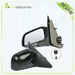 L+r Side Mirrors Fits For 1997 Ford Crown Victoria Primed Power Function