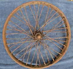 Antique Early Harley Indian Motorcycle Wheel Rim 21 Flat Track Racer Henderson