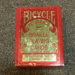 Bicycle Playing Cards Made In Braille Ohio