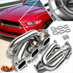 For 11-17 Ford Mustang 3.7 V6 Stainless Steel Shorty 3-1 Exhaust Header Manifold