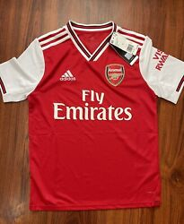 Adidas Arsenal 2019/20 Home Soccer Jersey Football Shirt Red Youth Large